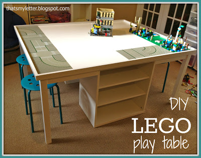 How To Make A Fun Lego Play Table