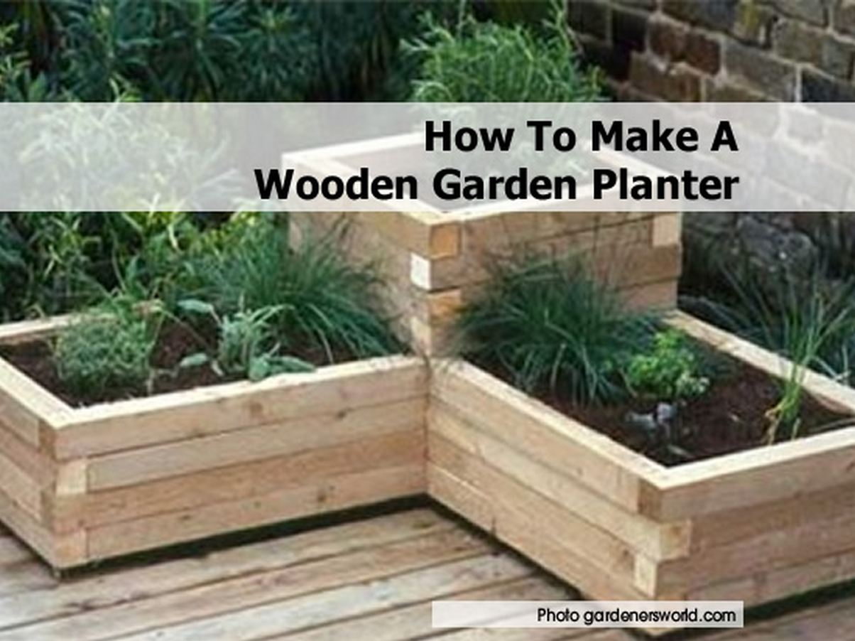 Custom beginner guide to get how to build wood planters for How to make a flower box out of pallets