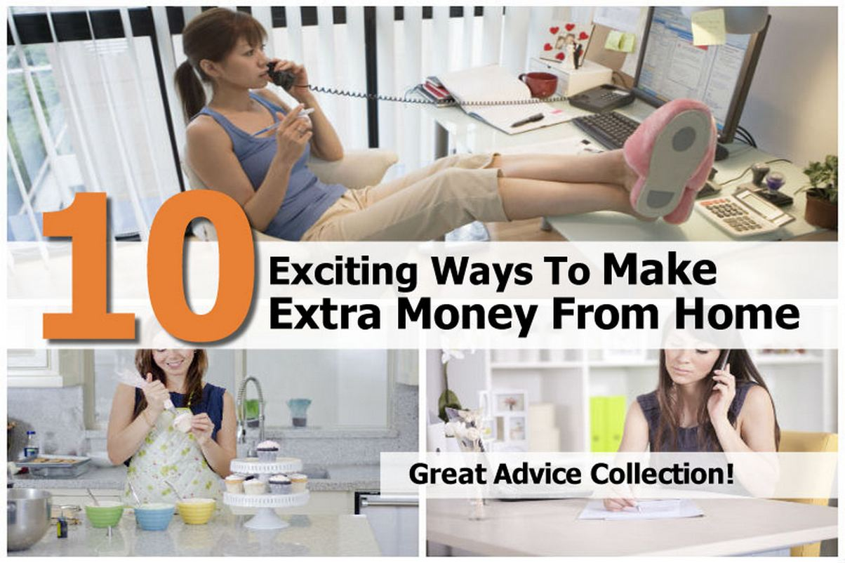 How To Make Extra Money At Home