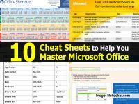 10 Cheat Sheets to Help You Master Microsoft Office