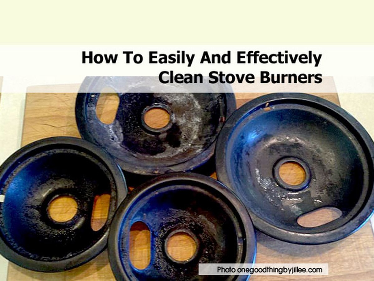 How To Easily And Effectively Clean Stove Burners