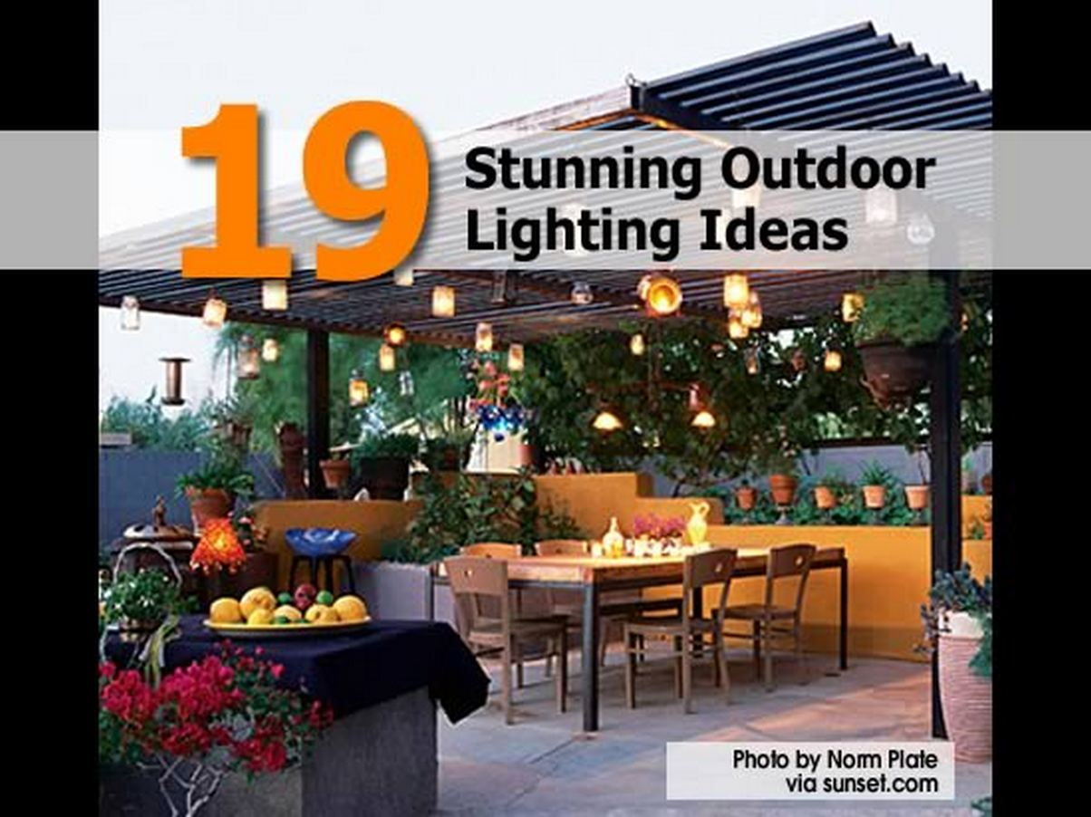 19 stunning outdoor lighting ideas for Home exterior lighting ideas