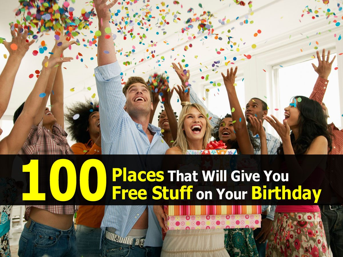 Free Stuff on Your Birthday – Free Food Free Buddy's Pizza on Your Birthday – Buddy's Pizza sends you a coupon for a free 4-Square pizza when you dine-in at Buddy's or 10% off any dine-in, all-you-can-eat dinner party package.