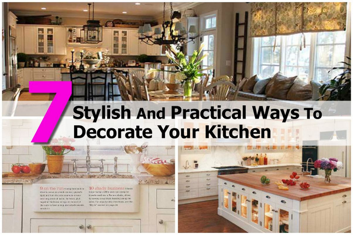 28 best ways to decorate your kitchen inexpensive ways How to decorate the top of your kitchen cabinets