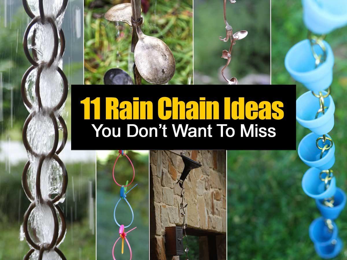 11 Rain Chain Ideas You Don39t