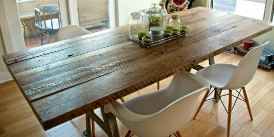 how to make reclaimed wood furniture