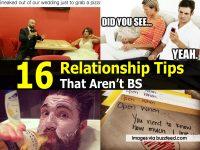 16 Relationship Tips That Aren't BS