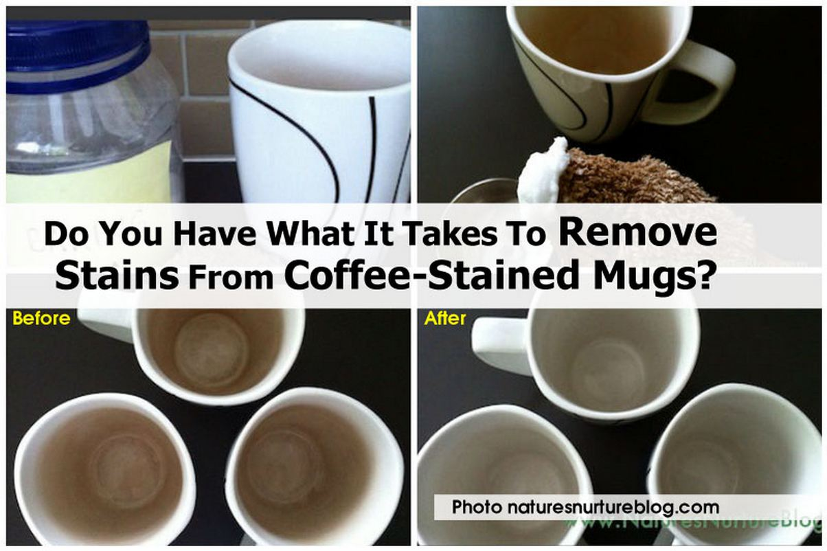 do you have what it takes to remove stains from coffee stained mugs. Black Bedroom Furniture Sets. Home Design Ideas