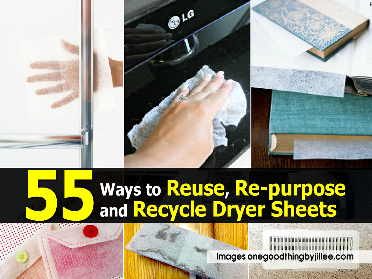 55 ways to reuse re purpose and recycle dryer sheets. Black Bedroom Furniture Sets. Home Design Ideas