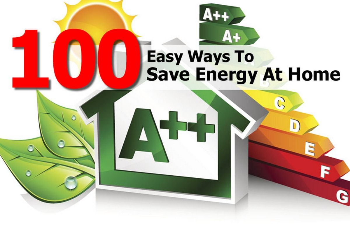 100 easy ways to save energy at home for Ways to save energy at home for kids