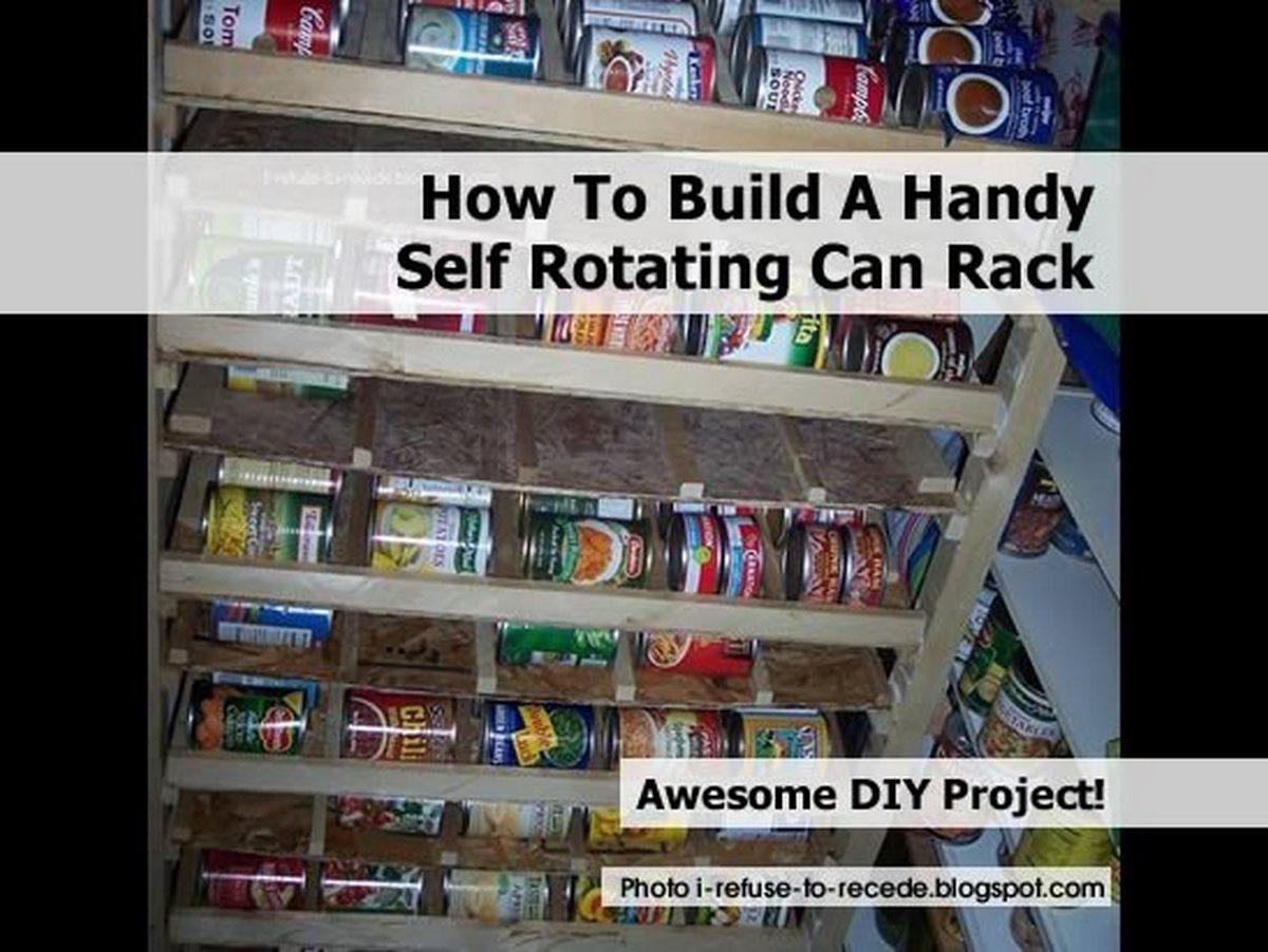 Diy Pantry Can Organizer