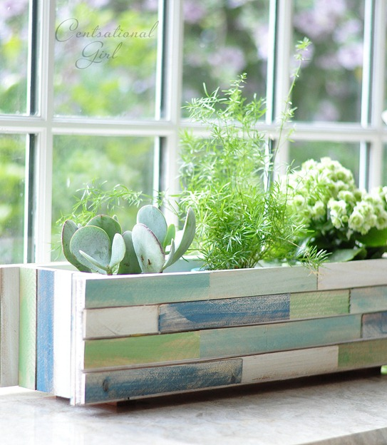 Wood Window Planter Boxes Shim Window Box Planter