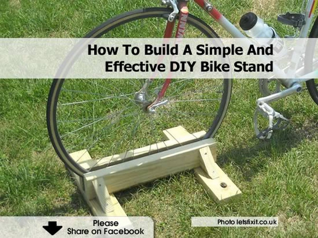 How To Build A Simple And Effective Diy Bike Stand
