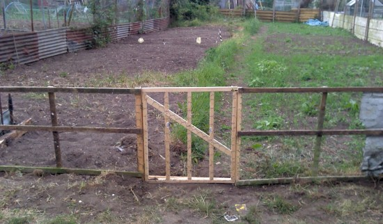 Make Simple Garden Gate