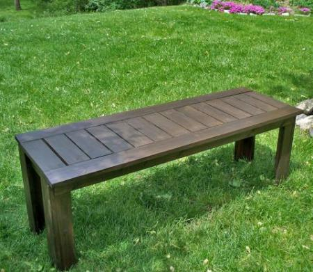 How To Build A Classic Outdoor Bench