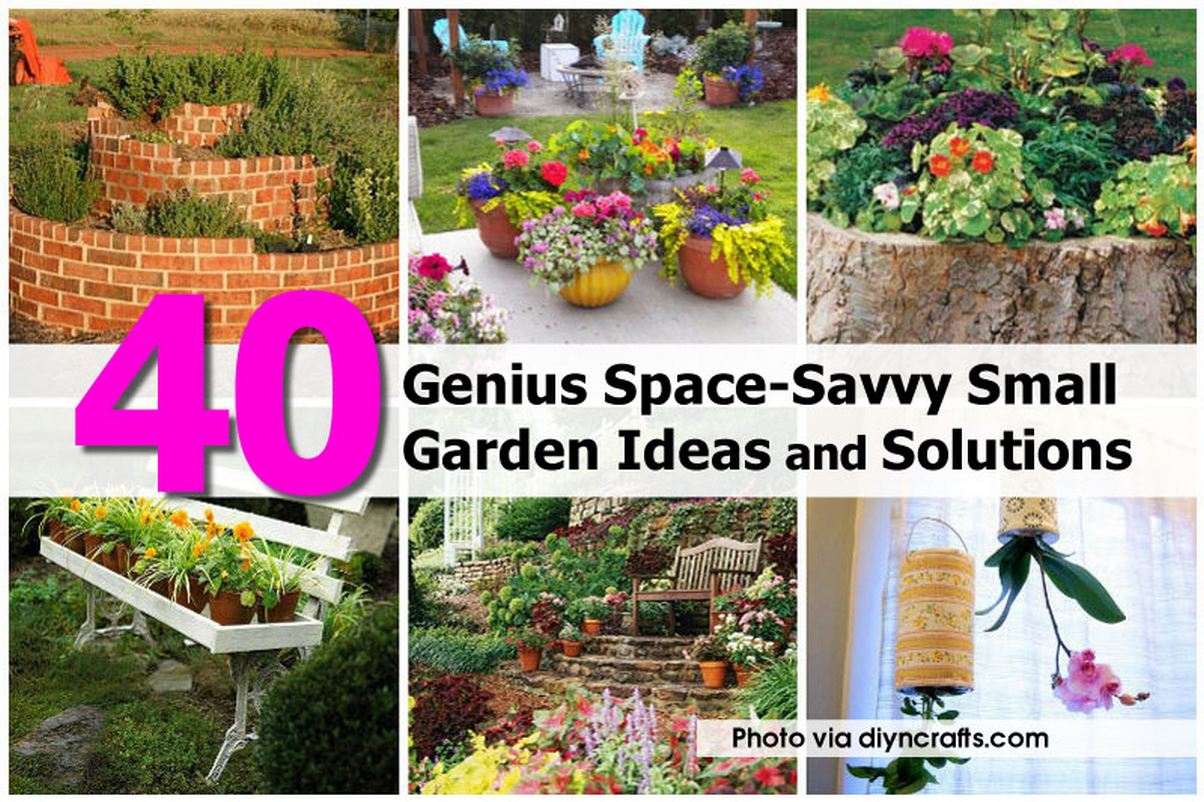 40 genius space savvy small garden ideas and solutions Savvy home and garden