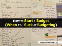 How to Start a Budget (When You Suck at Budgeting)