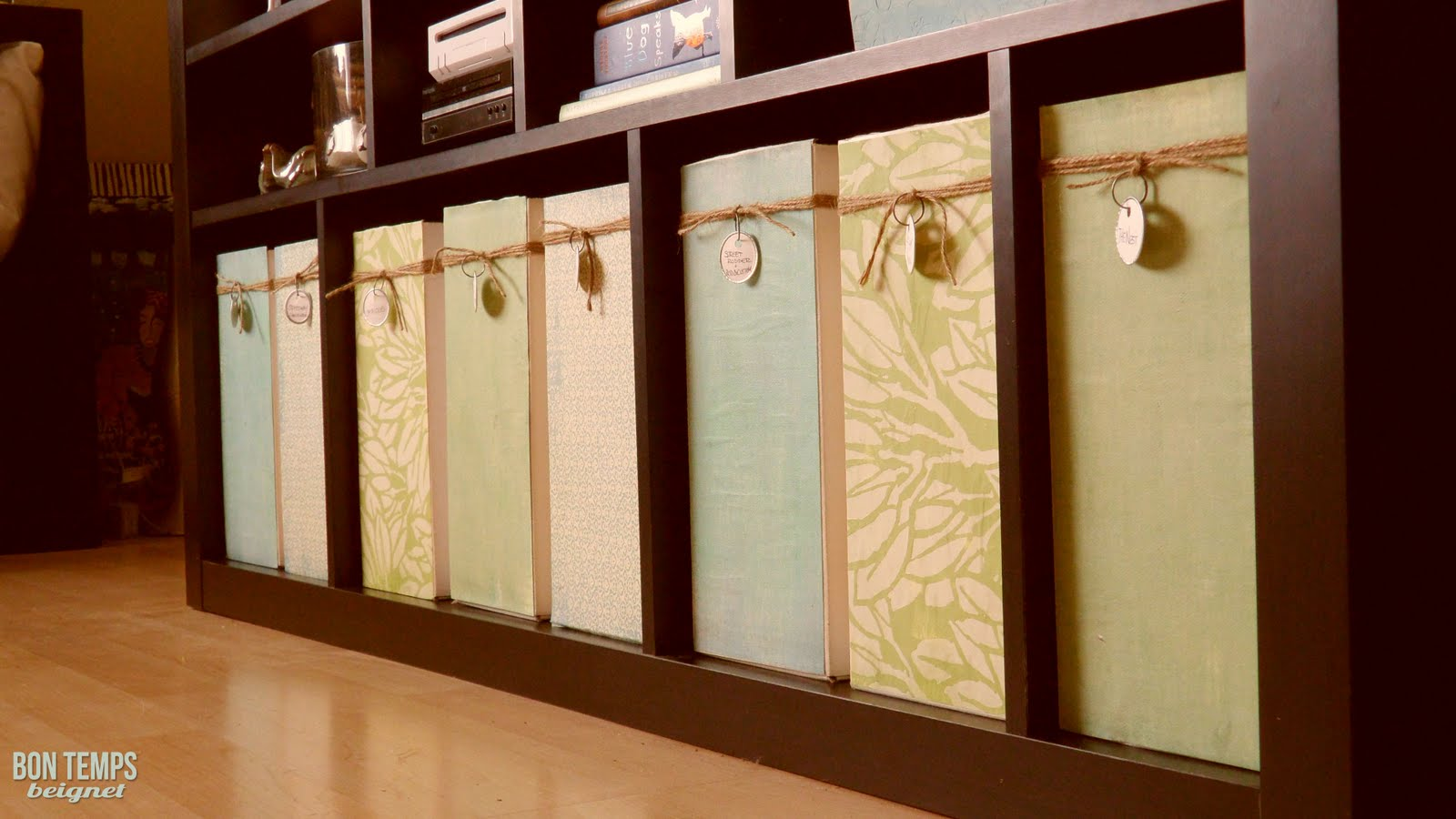 how to make beautiful storage containers from old boxes
