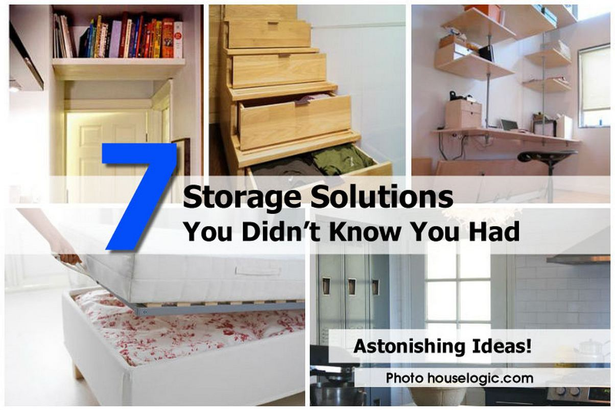 7 storage solutions you didn t know you had for In house storage solutions