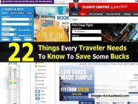 22 Things Every Traveler Needs To Know To Save Some Bucks