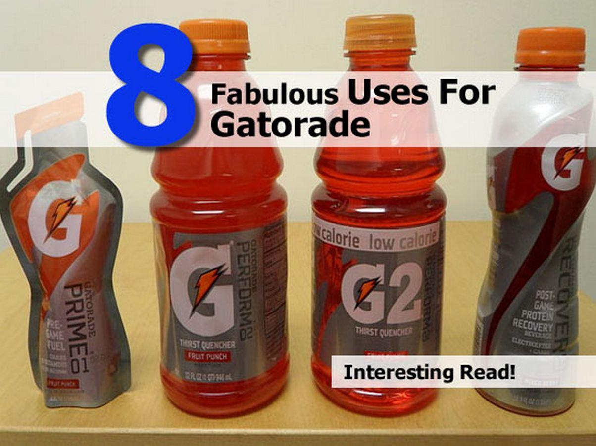 uses-for-gatorade