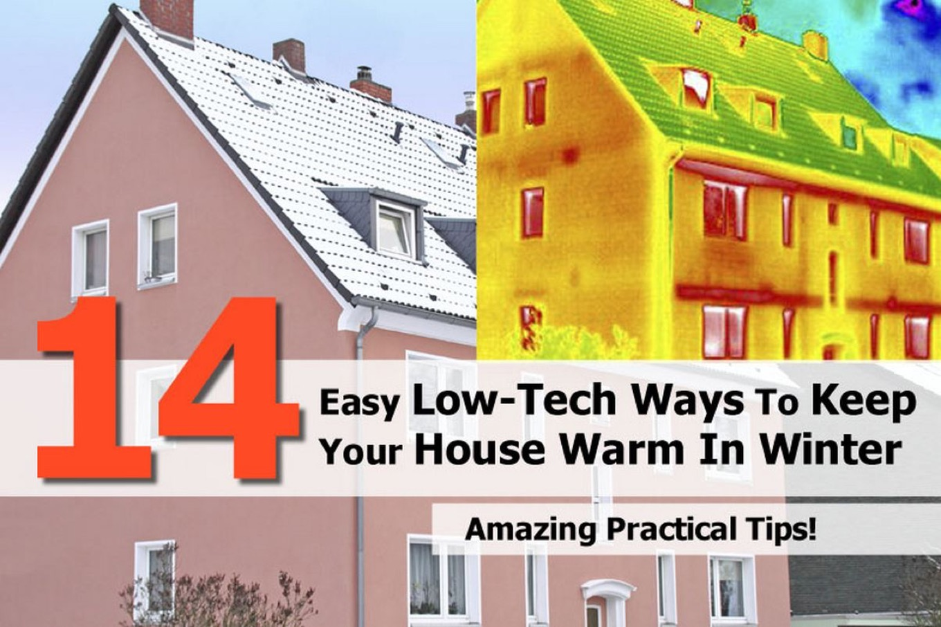14 easy low tech ways to keep your house warm in winter
