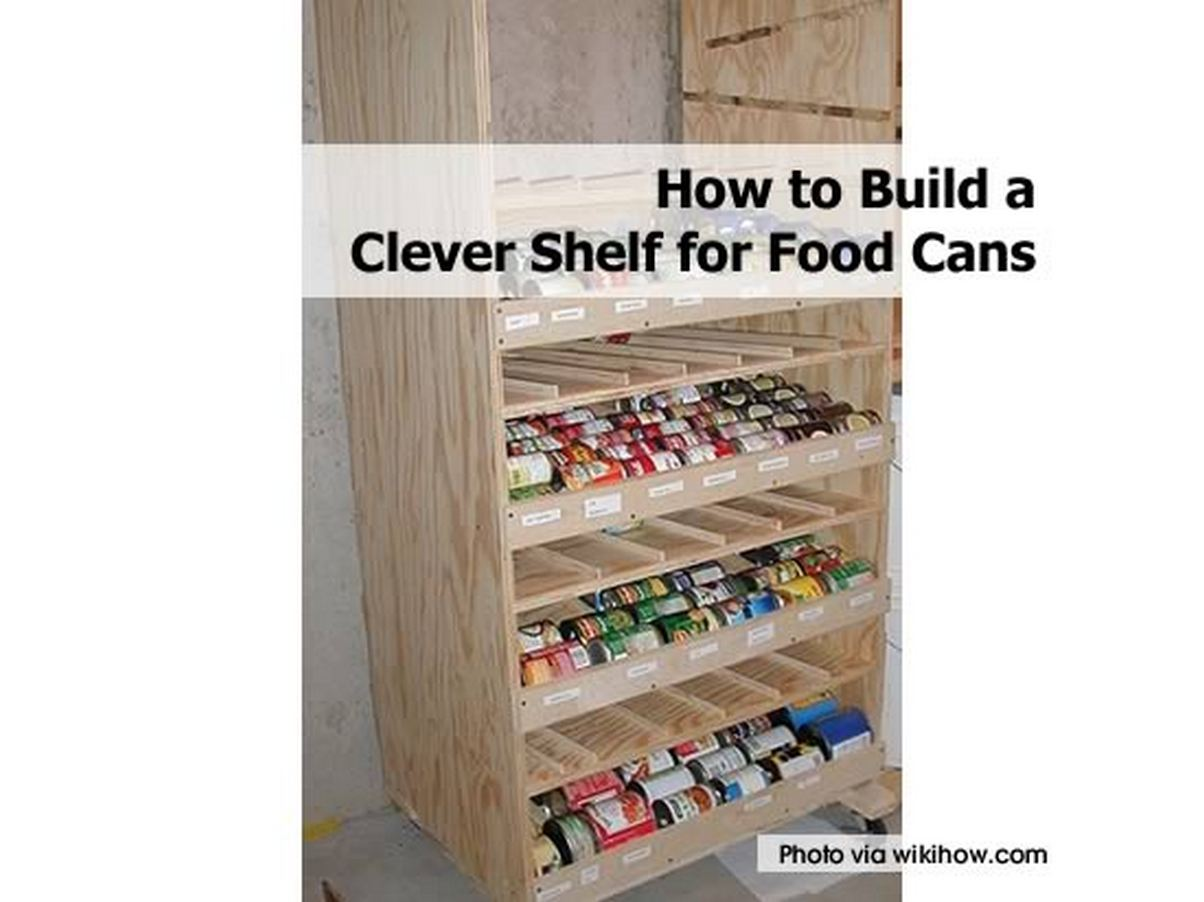 Have you ever thought of storing your canned food in a much more ...