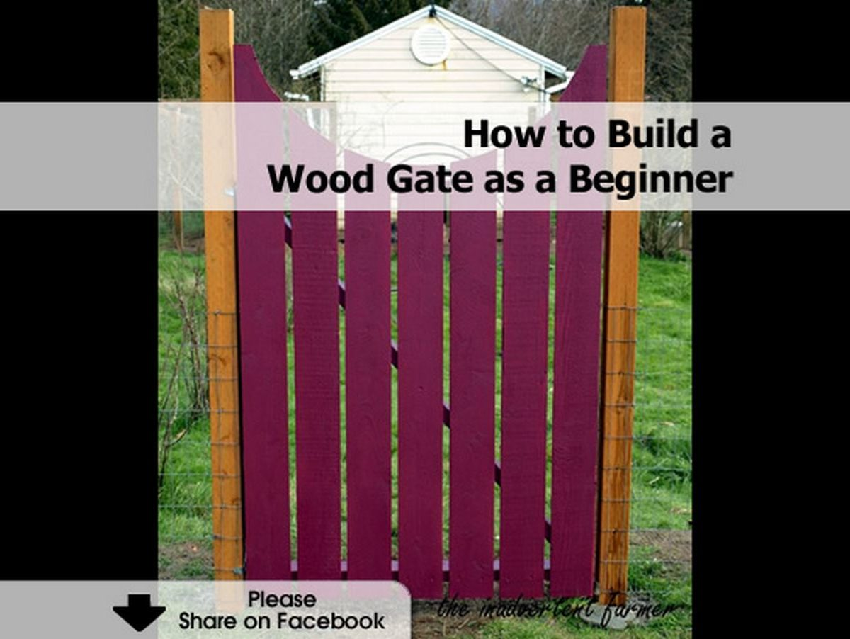 the forest how to make a woden gate