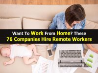 Want To Work From Home? These 76 Companies Hire Remote Workers